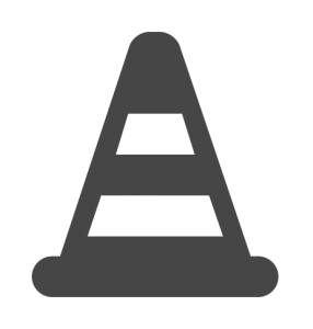 traffic-cone-home-icon